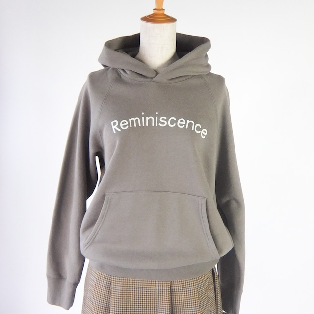 a piece of Library - レミニッセンスパーカー - Khaki Grey / Off White / Navy