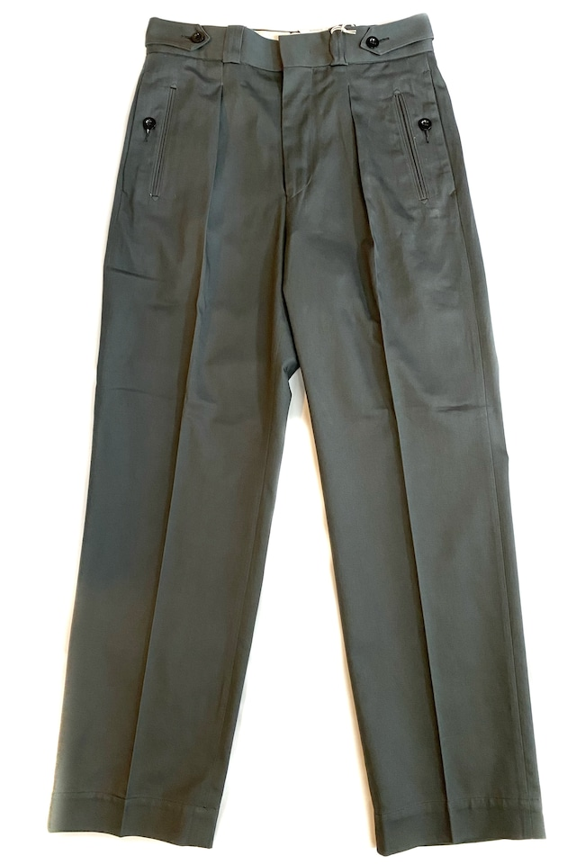 Tangent / Tan04 French Army Adjuster Pants バックサテン