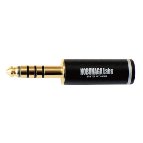 【まとめ買い 5セット 10%割引】4.4mm5極プラグ NLP-PRO-TP4.4/5 :: NOBUNAGA Labs pro studio