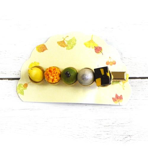 【卯の月屋】和菓子のヘアクリップ/ヘアクリップ