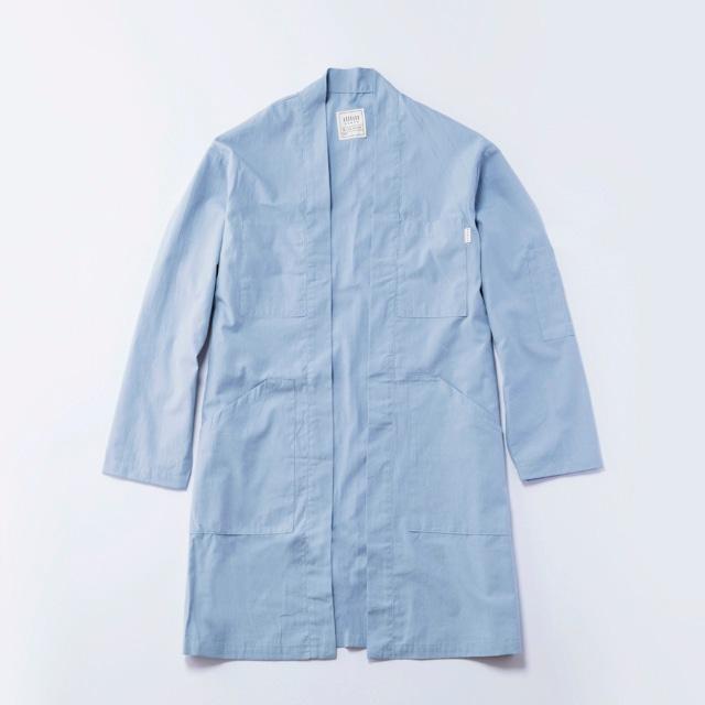 JK-05 伊達羽織(薄手)  灰水色●