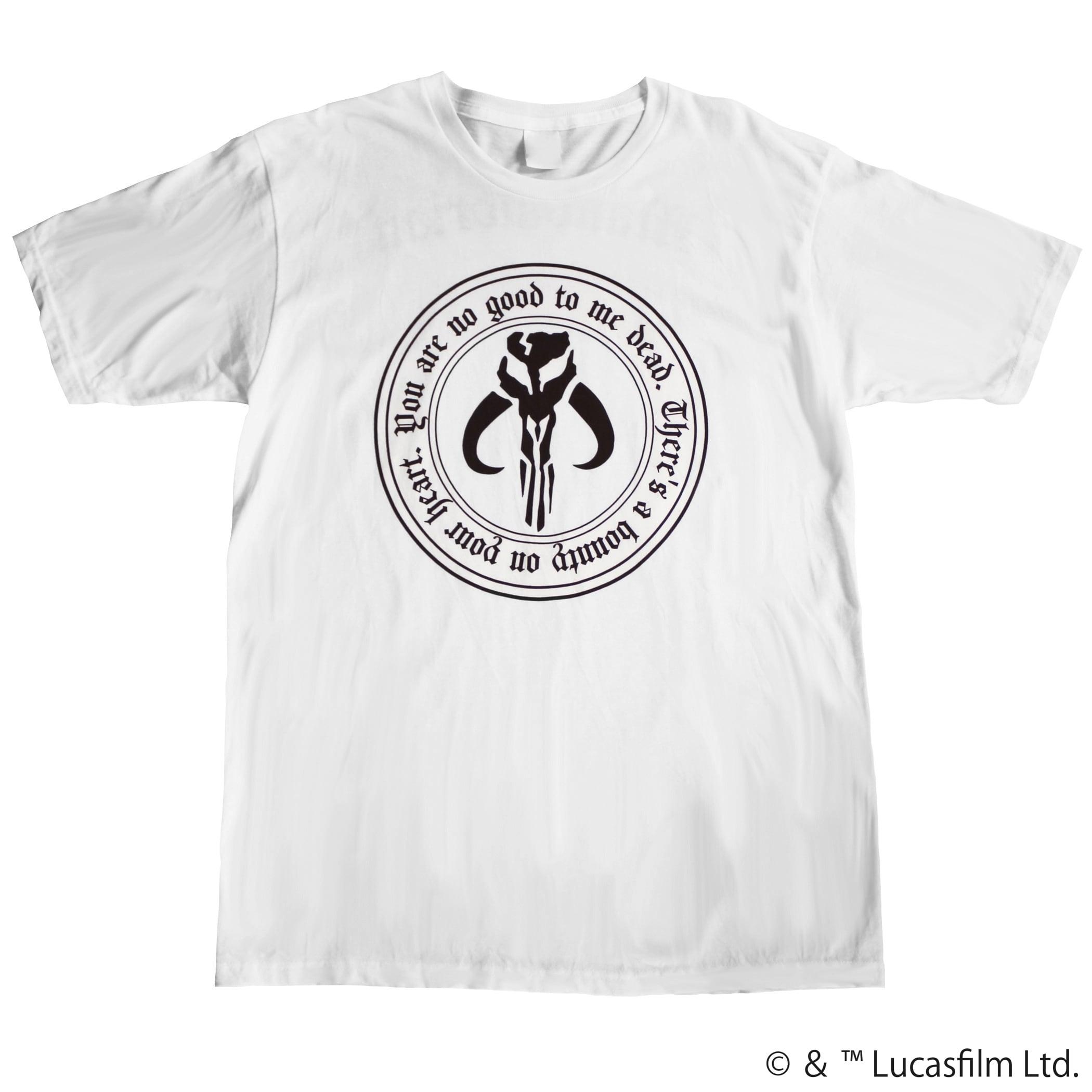 【スター・ウォーズ】マンダロリアン 両面プリントTシャツ
