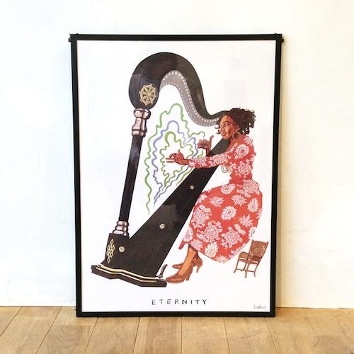【ポスター】Alice Coltrane by Brad Howe