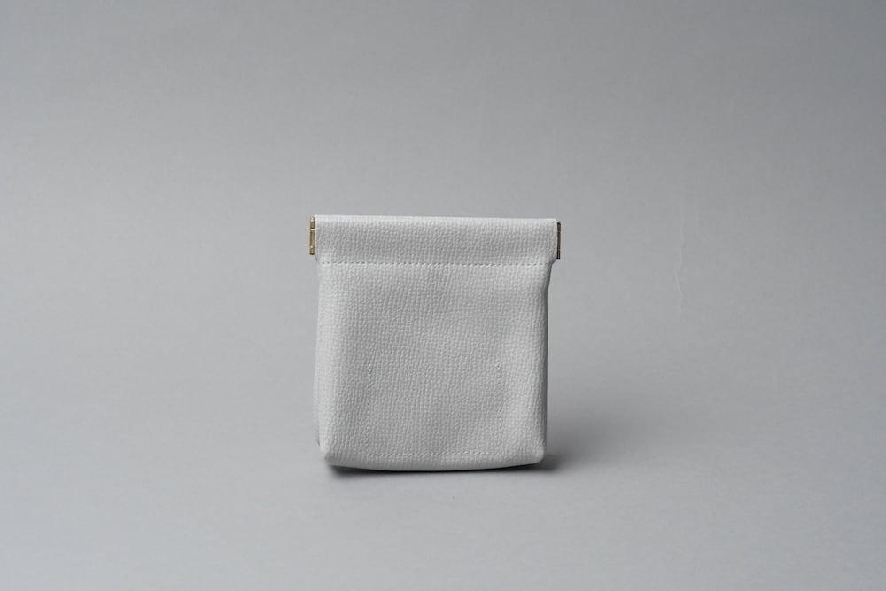 ワンタッチ・コインケース ■ライトグレー・ナチュラル■ - 画像4