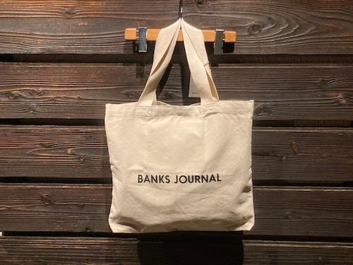 Banks Journal Label Tote Bag BA0002  Off White