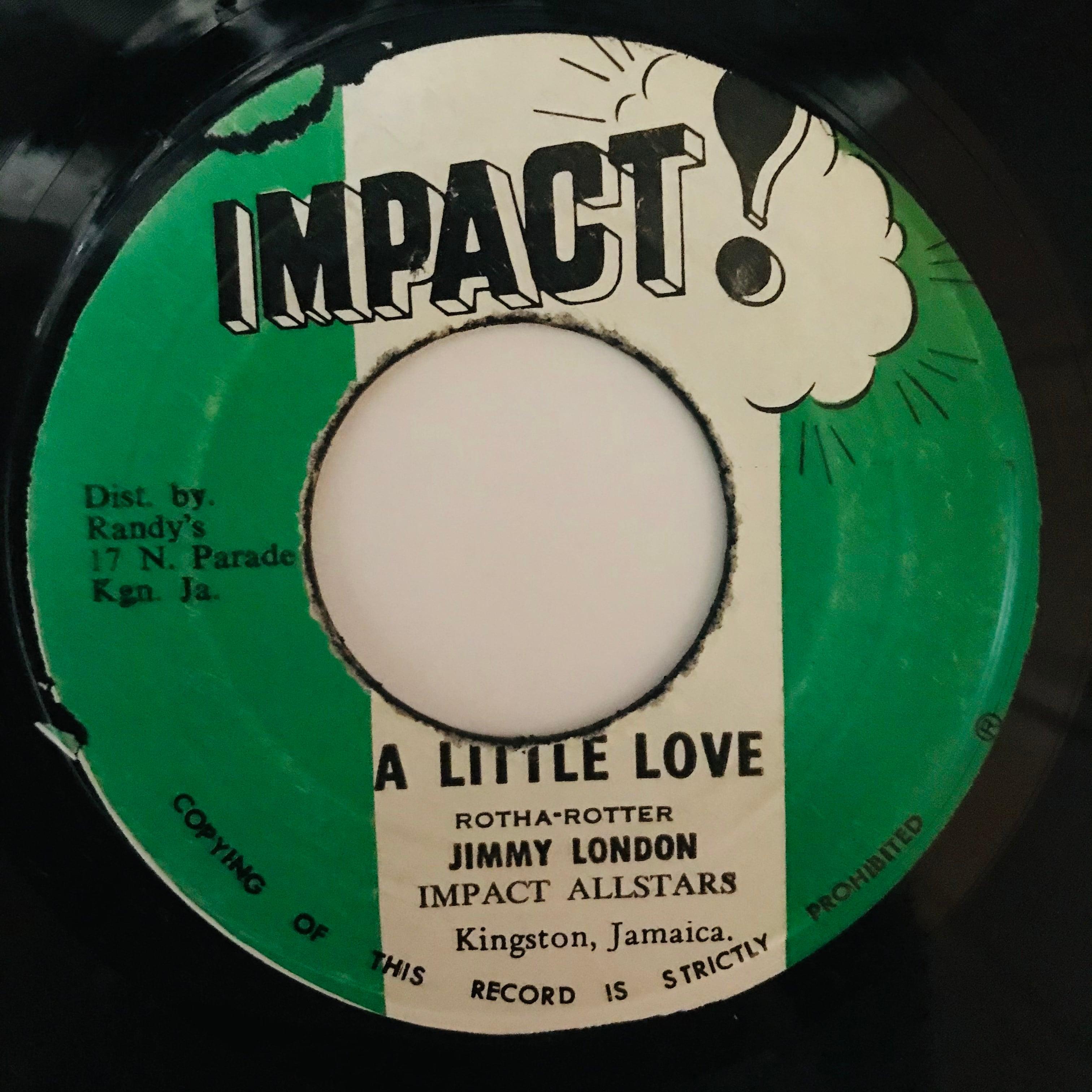 Jimmy London - A Little Love【7-10950】