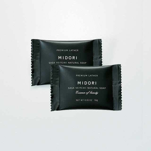 MIDORI  はじめての くま笹の石鹸