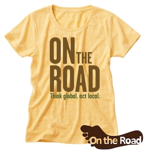 On the Road Tシャツ《イエロー》