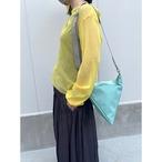 【sandglass】triangle bag(M)mint / 【サンドグラス】トライアングル バッグ(M)本体 ミント