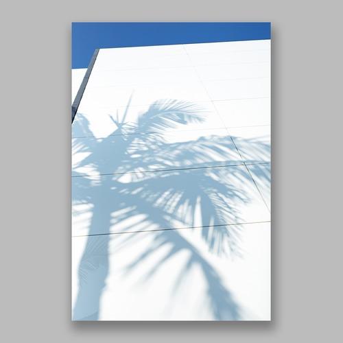 Postcard「Sweet Palm Tree」13cm×18cm Original Print