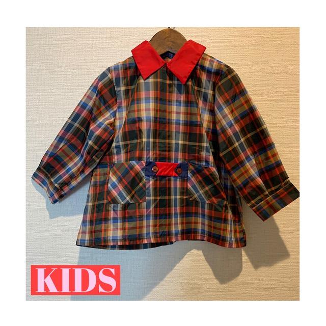 【送料無料】【KIDS】70's school blouse - French - Size 3/4 years old-