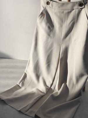 front tuck skirt(beige)
