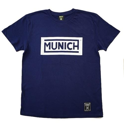 【MUNICH】ムニック BOXロゴTシャツ