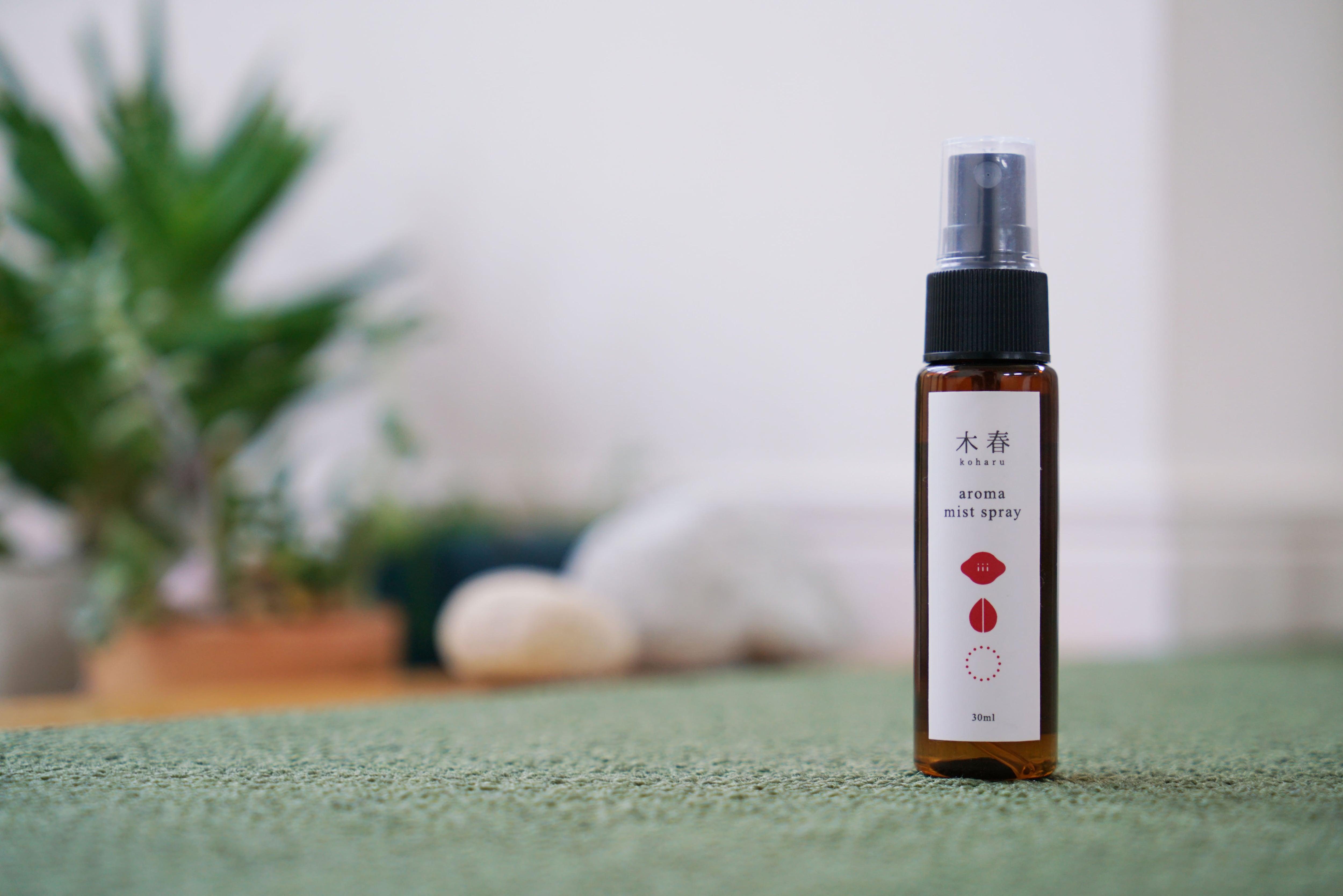 aroma spray   木春