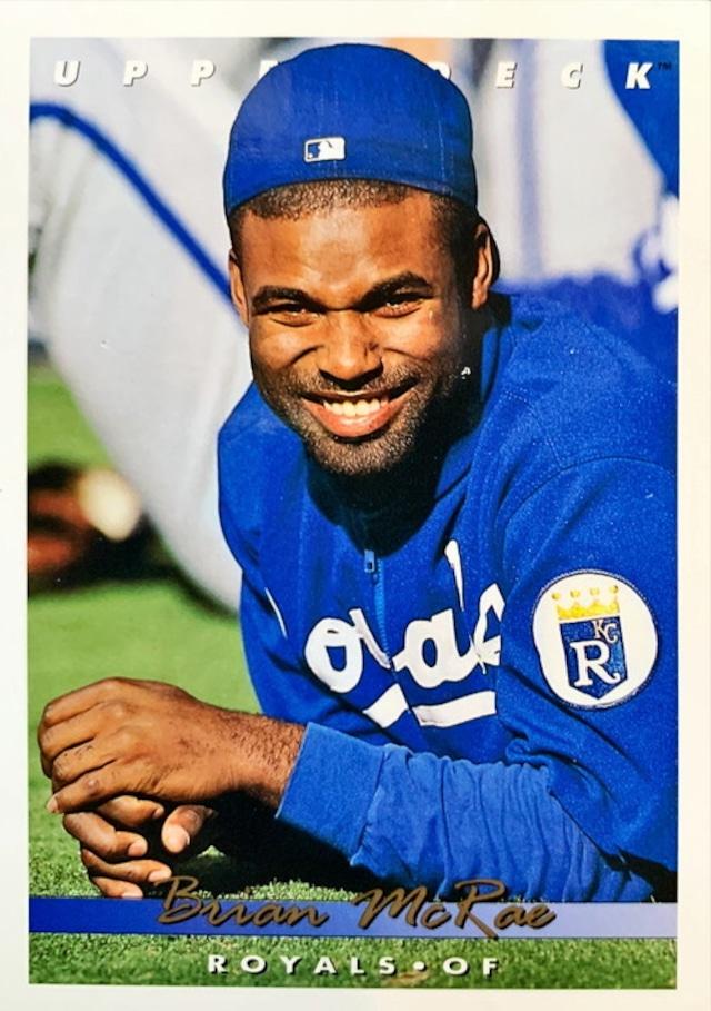 MLBカード 93UPPERDECK Brian Mc Rae #238 ROYALS