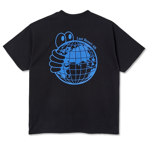 LastResortAB WORLD TEE BLACK  L