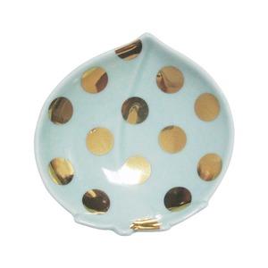 amabro (アマブロ)  MAME (豆皿) 【水玉桃形皿】