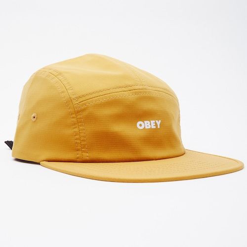 【OBEY】 BOLD RIPSTOP 5 PANEL (YELLOW)