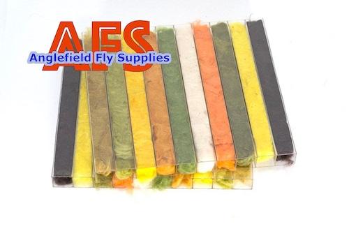 【 AFS 】 Kapok Dubbing 10 colors  With Dispenser Box