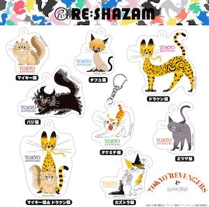 〈東京リベンジャーズ〉全8種コンプリートBOX アクリルチャームコレクション (Illustrations by 黒ねこ意匠)