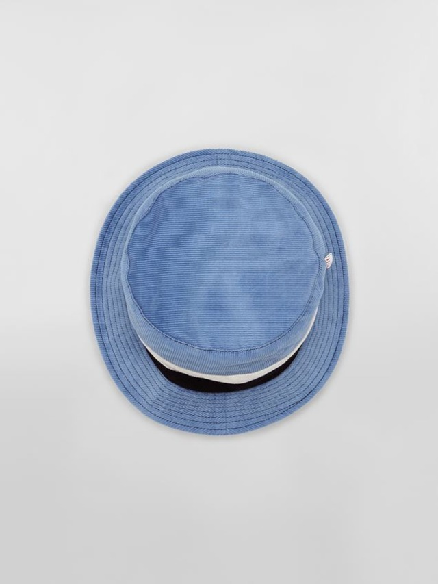 MARNI Cotton & Velvet Fisherman Hat