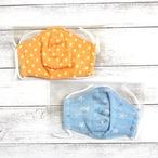 【Ranunculus】立体布マスク・キッズサイズ/マスク
