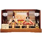 吉徳 雛人形 京十番親王飾り「江都みやび春窓雛」