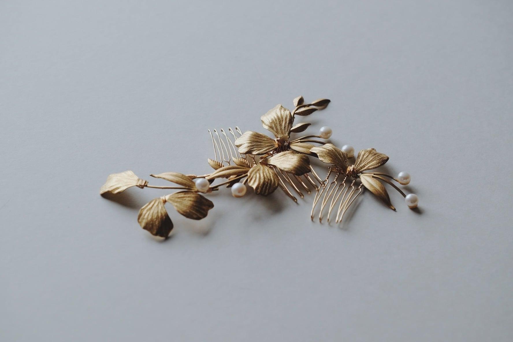 Bridal hairaccessory ・vintage・1009/sale