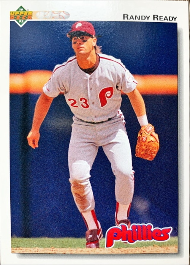 MLBカード 92UPPERDECK Randy Ready #408 PHILLIES