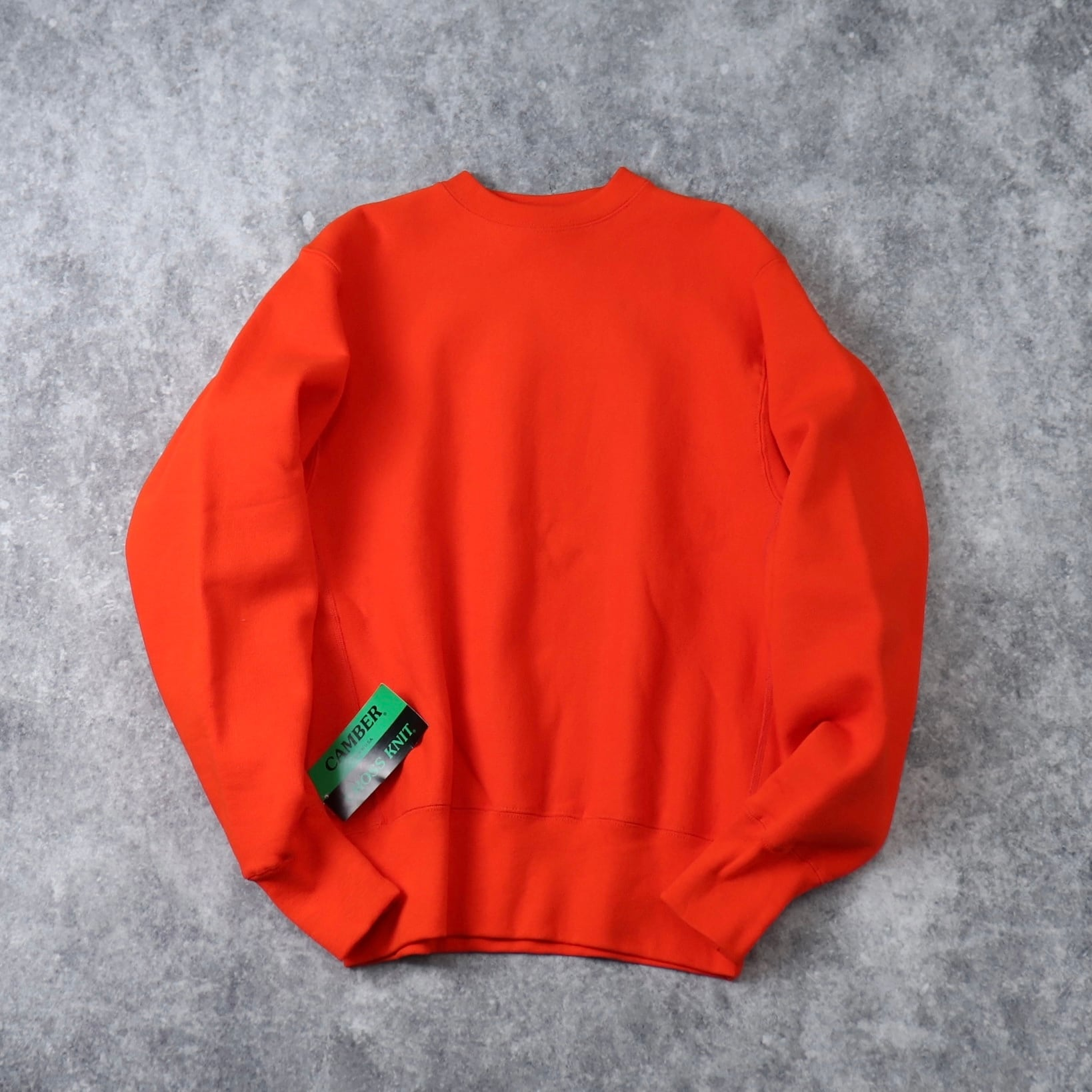""""""" CAMBER """"  Sweatshirts  Cross Knit  Made in USA   キャンバー スウェット 裏起毛 アメリカ製 新品 A638"""