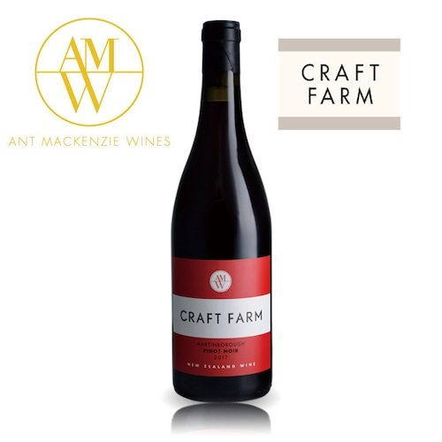 Craft Farm Martinborough Pinot Noir 2017 / クラフトファーム マーティンボロー ピノノワール