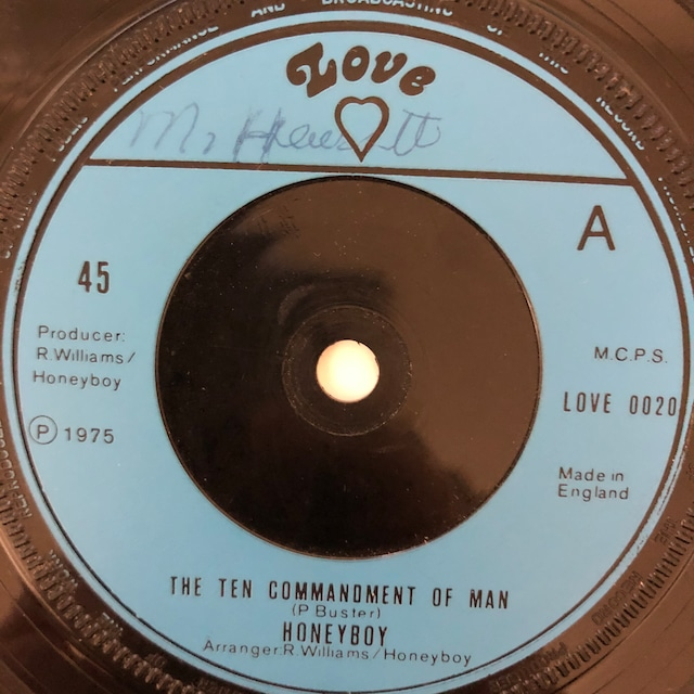 Honey Boy - The Ten Commandments Of Man【7-20620】