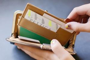 ロングウォレット用カード仕切りケース