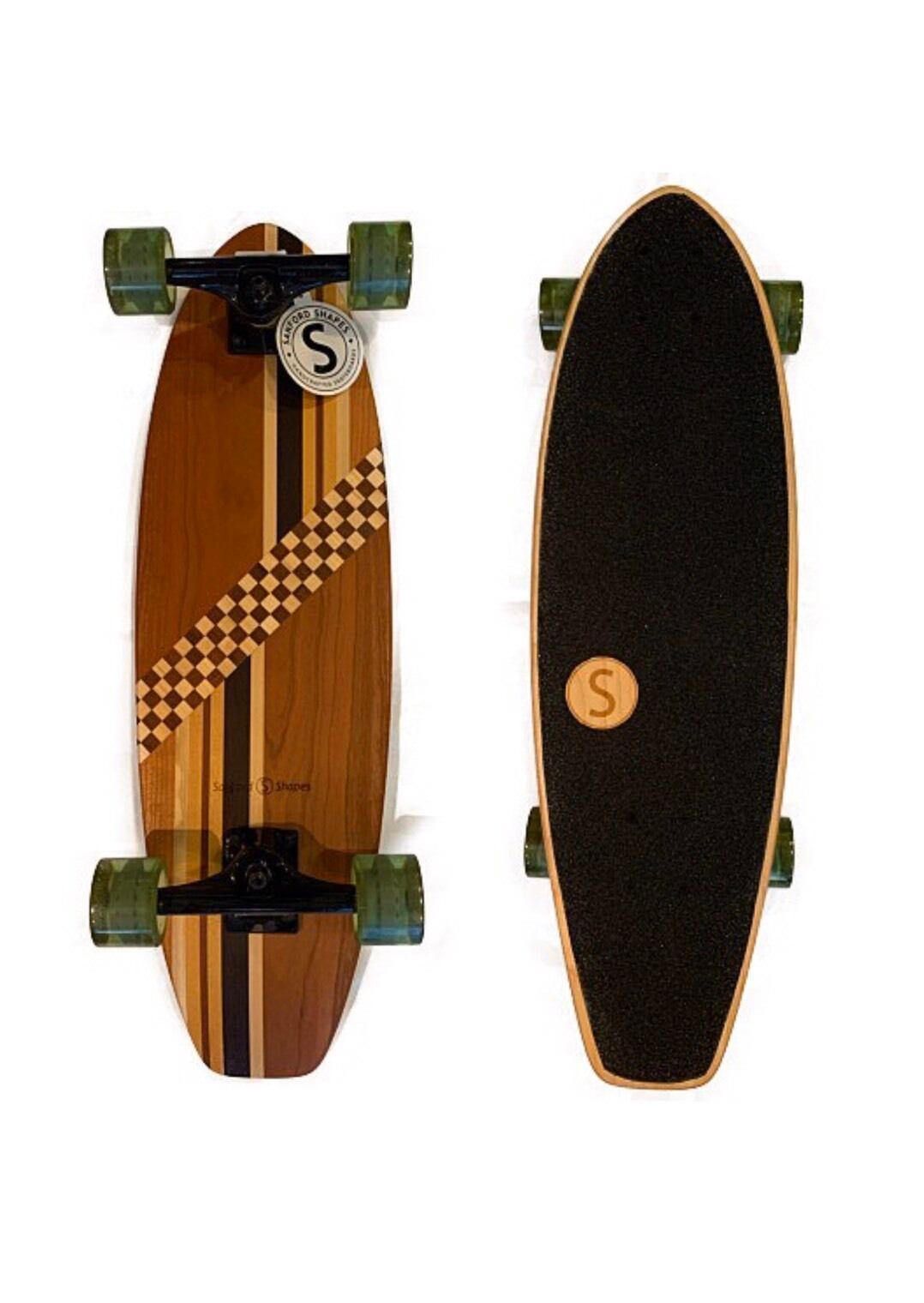 Sanford Shapes TUNA スケートボード 72cmx23cmx13cm