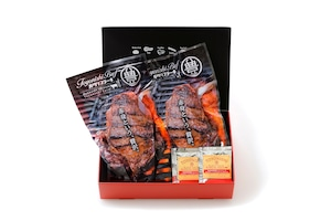 豊西牛厚切りロースステーキギフト350g×2枚