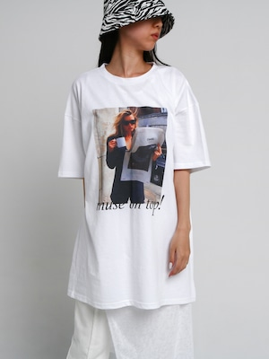 【UNISEX - 1 Size】MUSE TEE / 2colors