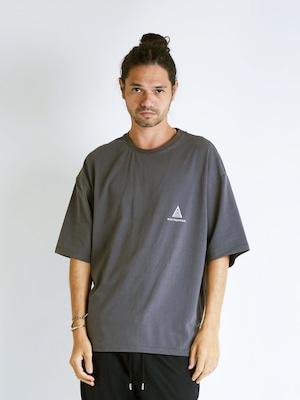 EGO TRIPPING (エゴトリッピング) POETRY TEE ポエトリーTシャツ / CHARCOAL 663812-04
