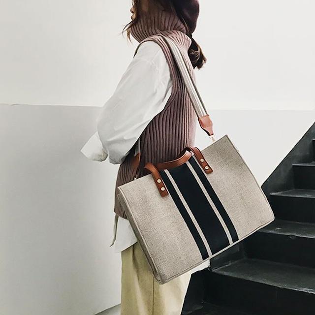 スクエアトートバッグ | ビジネス フォーマル 韓国服
