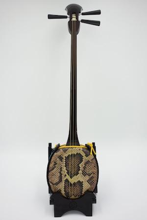 三味線 No.14 南洋黒檀真壁型 奄美三味線