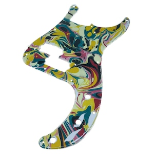 VARIOUS MARBLEIZED PICK GUARD SERIES - 50s P-type  Only One Design - ベース用マーブルピックガード pa2-2
