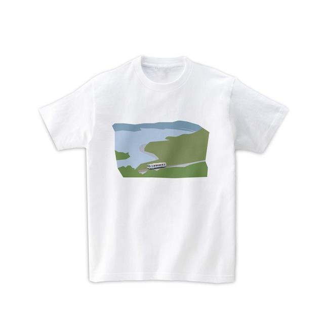 電車Tシャツ-浜名湖