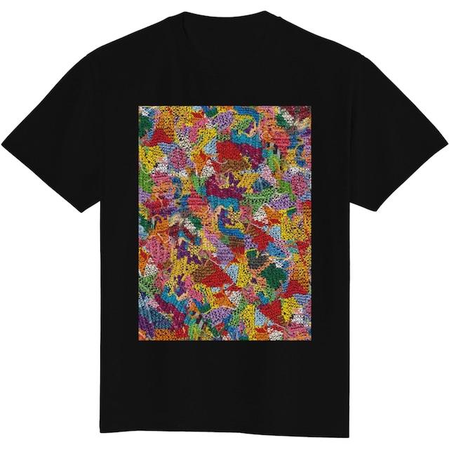 Rainbow Cross stitch T-shirt