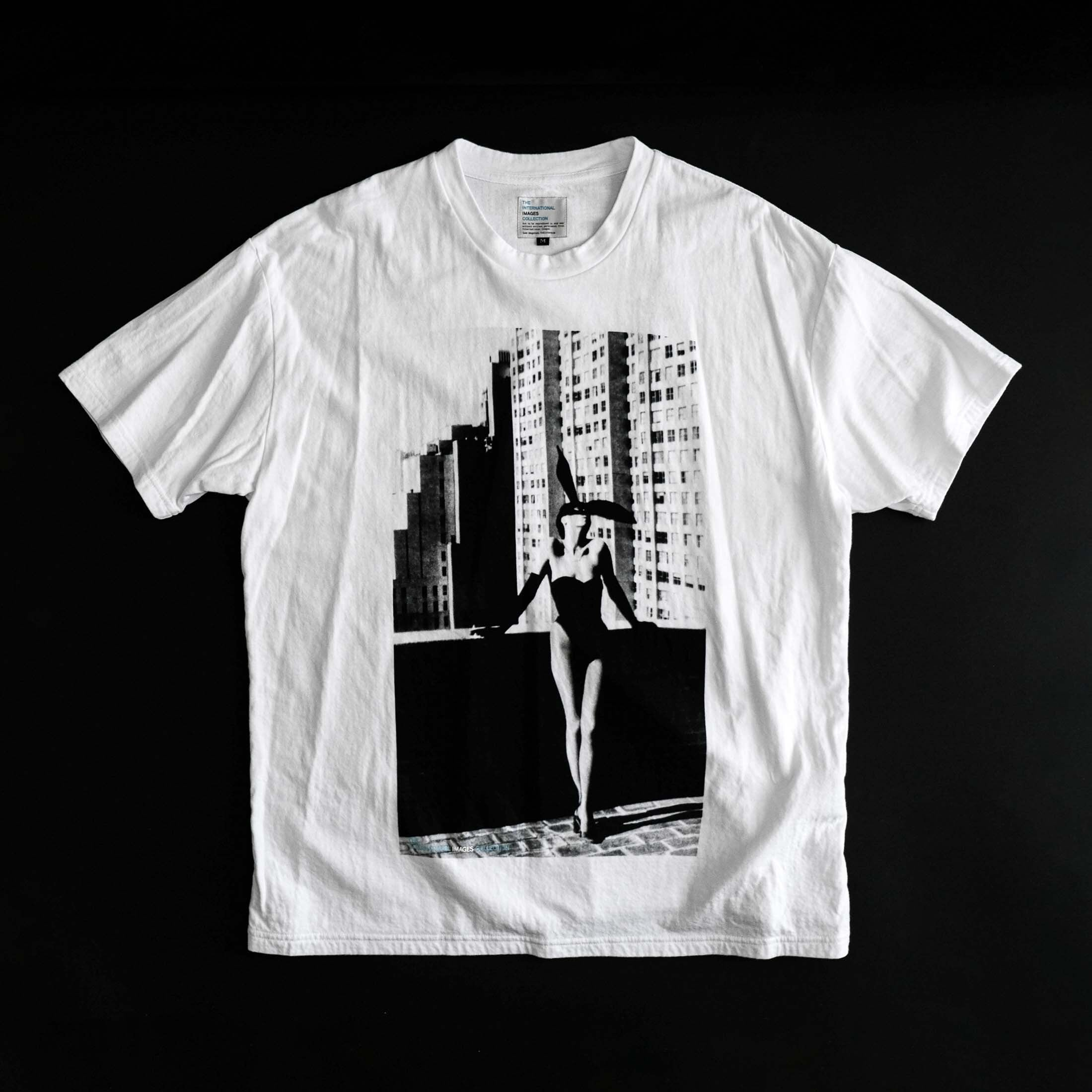 THE INTERNATIONAL IMAGES COLLECTION / GRAPHIC T-SHIRT (PLAYBOY BUNNY)