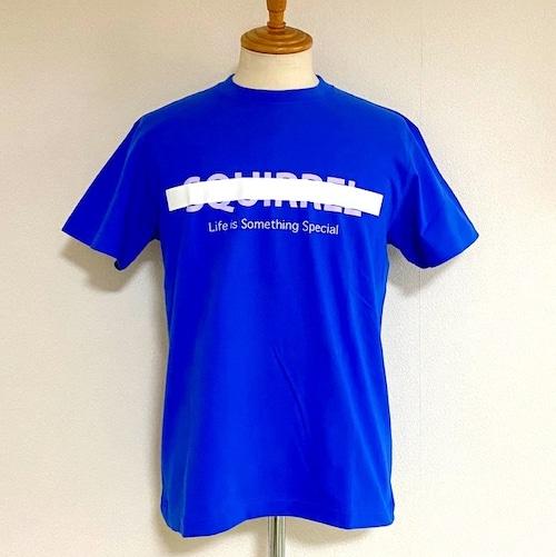 Print Cut & Sewn 「SQUIRREL」 Blue