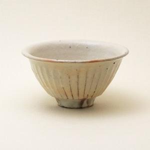 鉄散 線彫飯碗 小 古谷製陶所 信楽焼