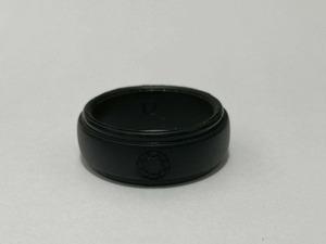 ottoRING メンズ凸 黒ブラック