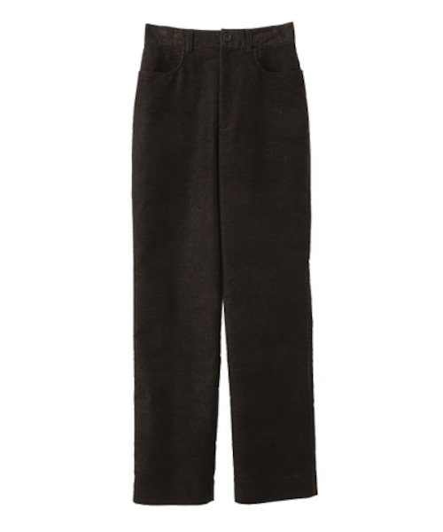 CLANE CHAMBRAY CORDUROY J/W STRAIGHT PANTS