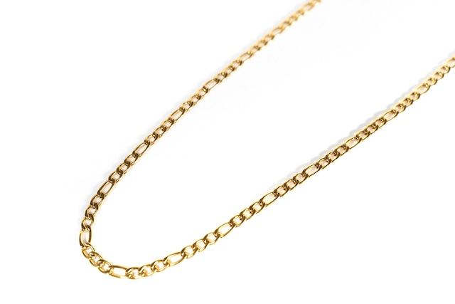 【316L figaro chain necklace】 / GOLD