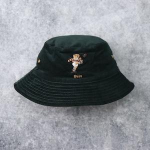 """【POLO RALPH LAUREN】 Polo Bear Corduroy Bucket Hat """"reversible"""" ラルフローレン ポロベア コーデュロイ バケットハット リバーシブル"""