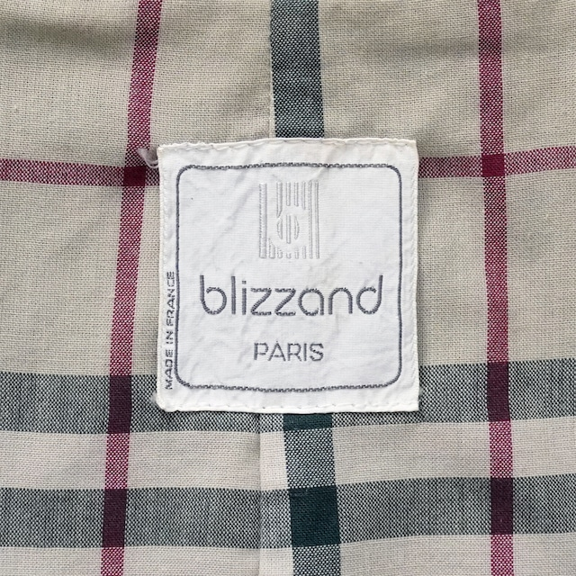 【MADE IN FRANCE】BLIZZAND トレンチコート